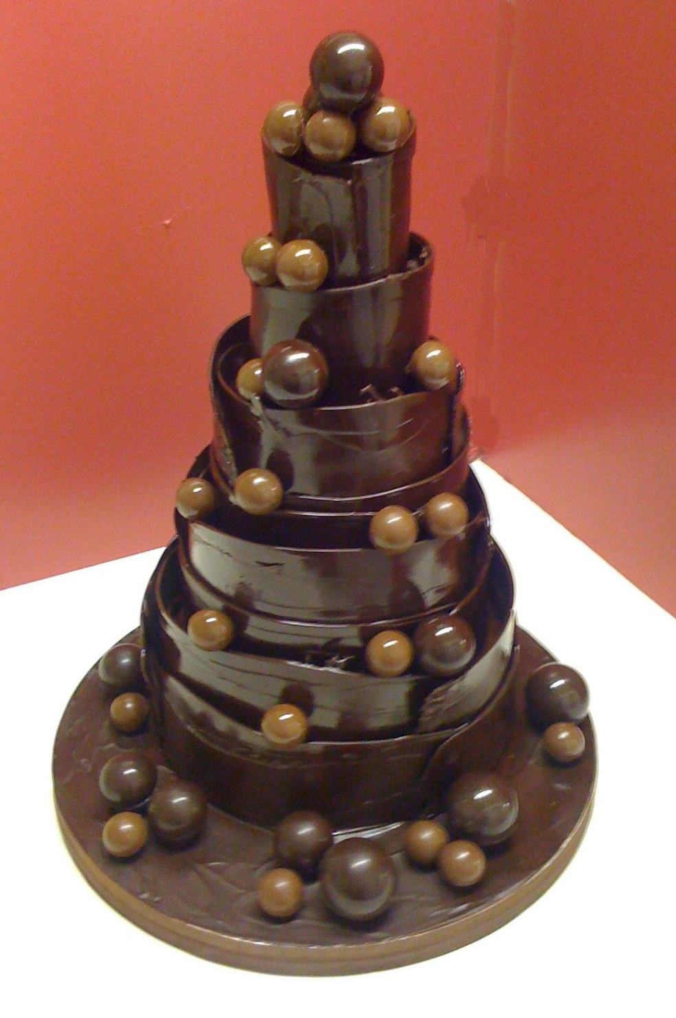 Images of Chocolate Wedding Cakes Chocolate Wedding Cake