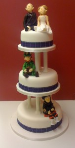 Irish Scotish Wedding Cake