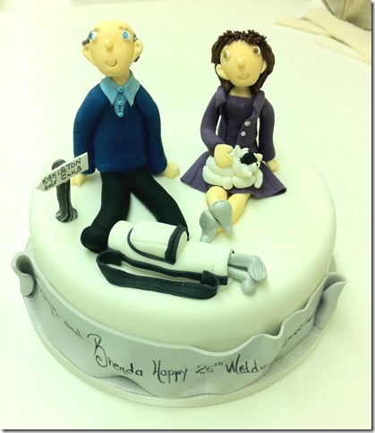 25th Wedding Anniversary Cake Jennys Cake Blog Wedding cakes ...